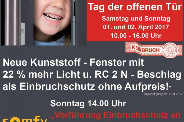 Tag der offenen Türe bei unserem Kunde Türen und Fensterland GmbH