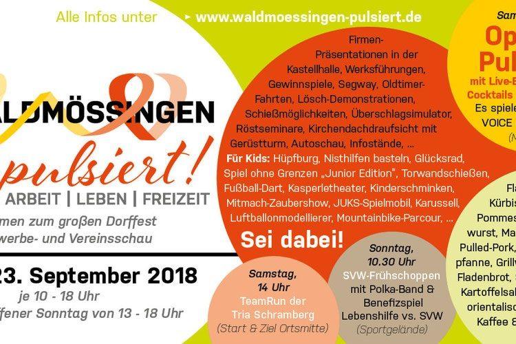Besuchen Sie die Schreinerei Graf auf der Gewerbe.- und Vereinsschau in Waldmössingen